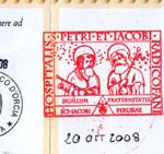Stempel Pilgerausweis