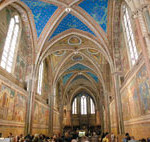 Historische Bauten am Via Francigena
